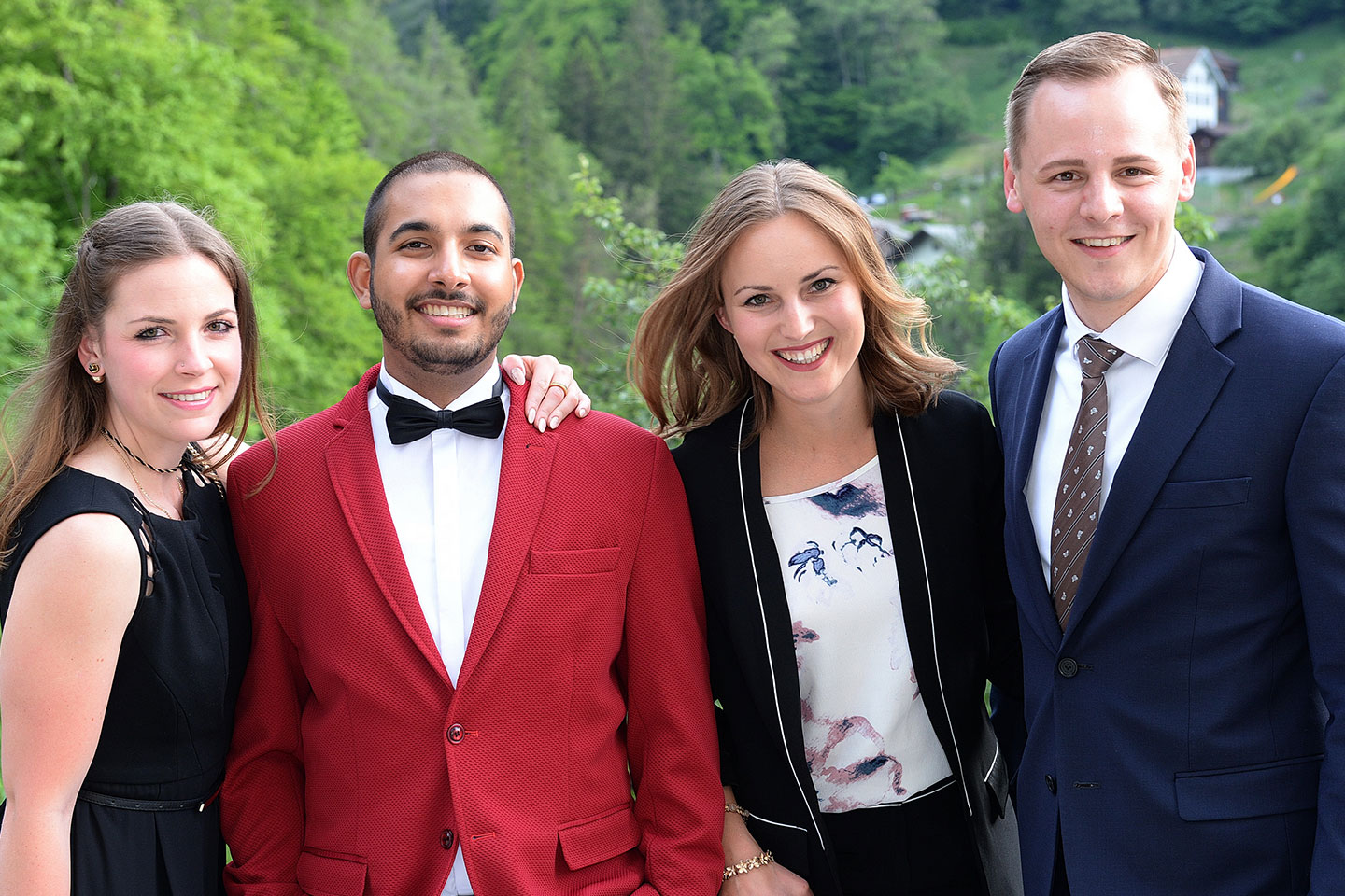 Alumni at EHL Campus Passugg look back at their hospitality studies in Switzerland