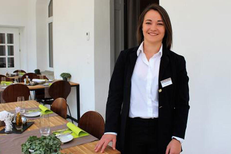 Xenia Marchesini sees a lot of career potential in hospitality