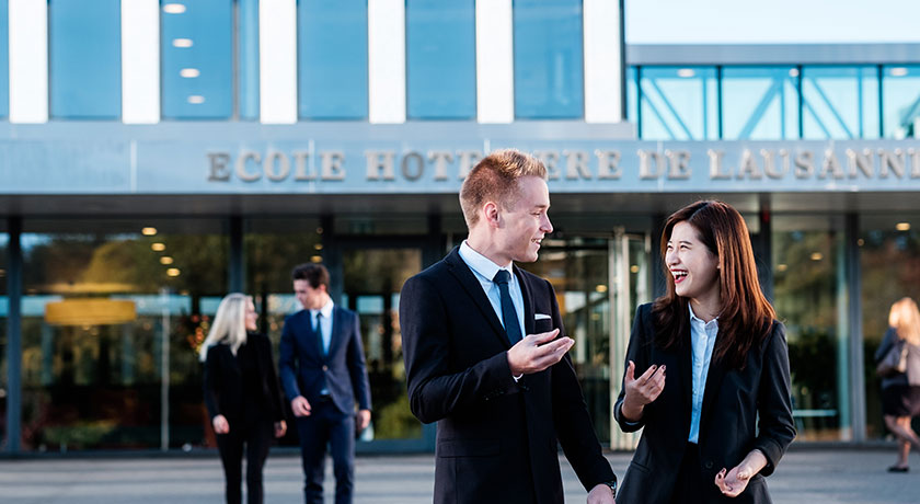 Bachelor studies at the EHL Hotel Management School Passugg