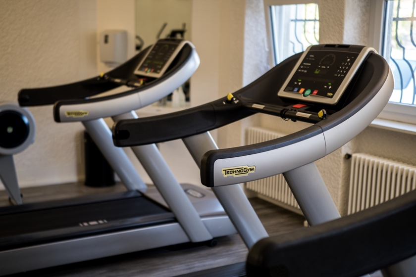 In the gym on the SSTH campus new cardio devices are available for the students