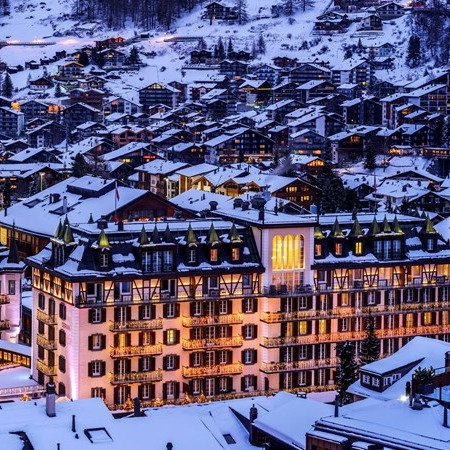 Culinary internship at the Hotel Mont Cervin Palace Zermatt, Switzerland