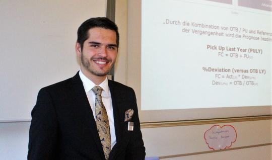 Swiss hotel management student Sandro Pucher shares his story